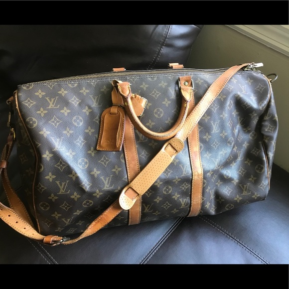 Louis Vuitton Handbags - Authentic Louis Vuitton Keepall 50 Bandouliere